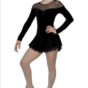 Chloe Noel ice skating dress